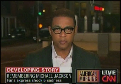 Don Lemon CNN American Morning June, 26, 2009 Los Angeles