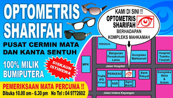 OPTOMETRIS SHARIFAH