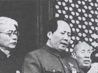 Proclamation de la République populaire de Chine par Mao