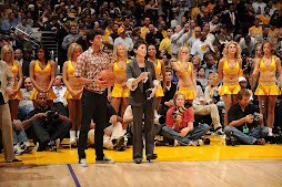 Evan at NBA Playoffs (Lakers vs. Jazz)