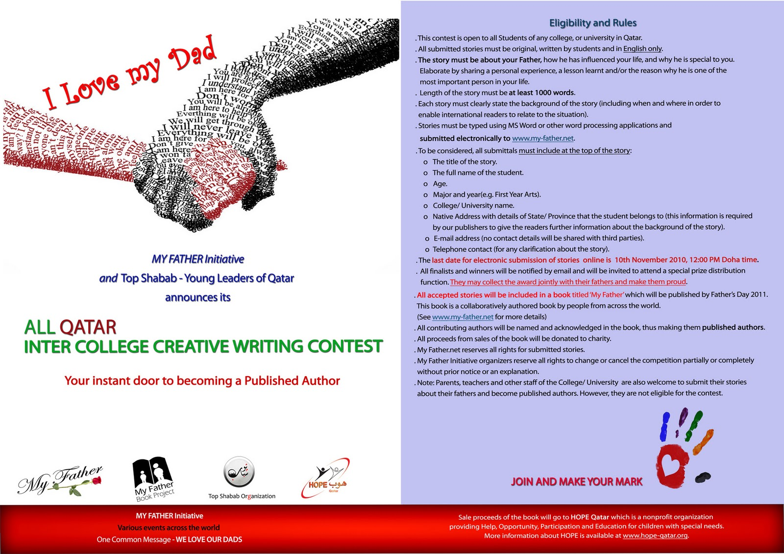 writing contest international