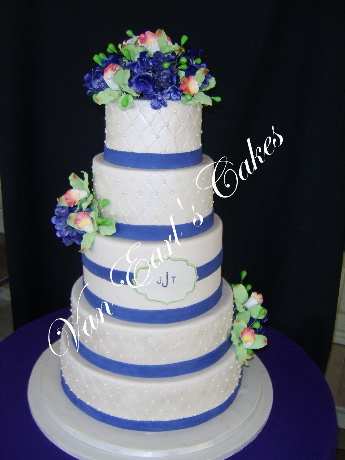 Images Of Round Wedding Cake : Van Earl s Cakes: Five Tier Round Wedding Cake