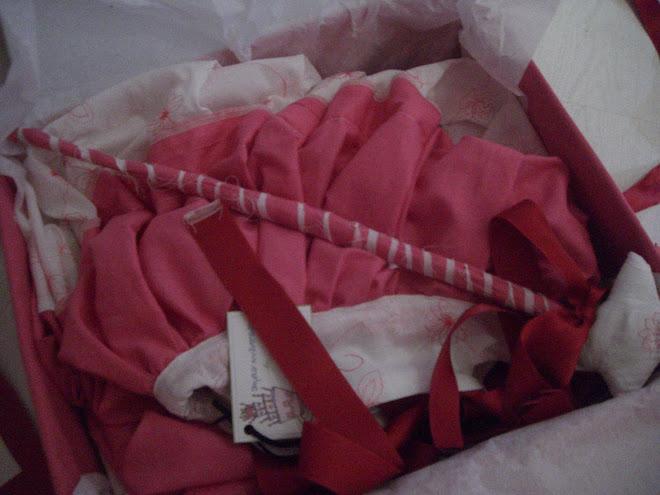 robe de princesse dans boîte de princesse