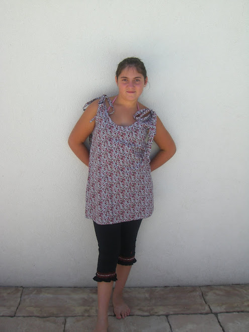 tunique liberty avec noeuds aux épaules