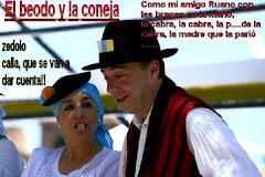EL BEODO Y LA CONEJA