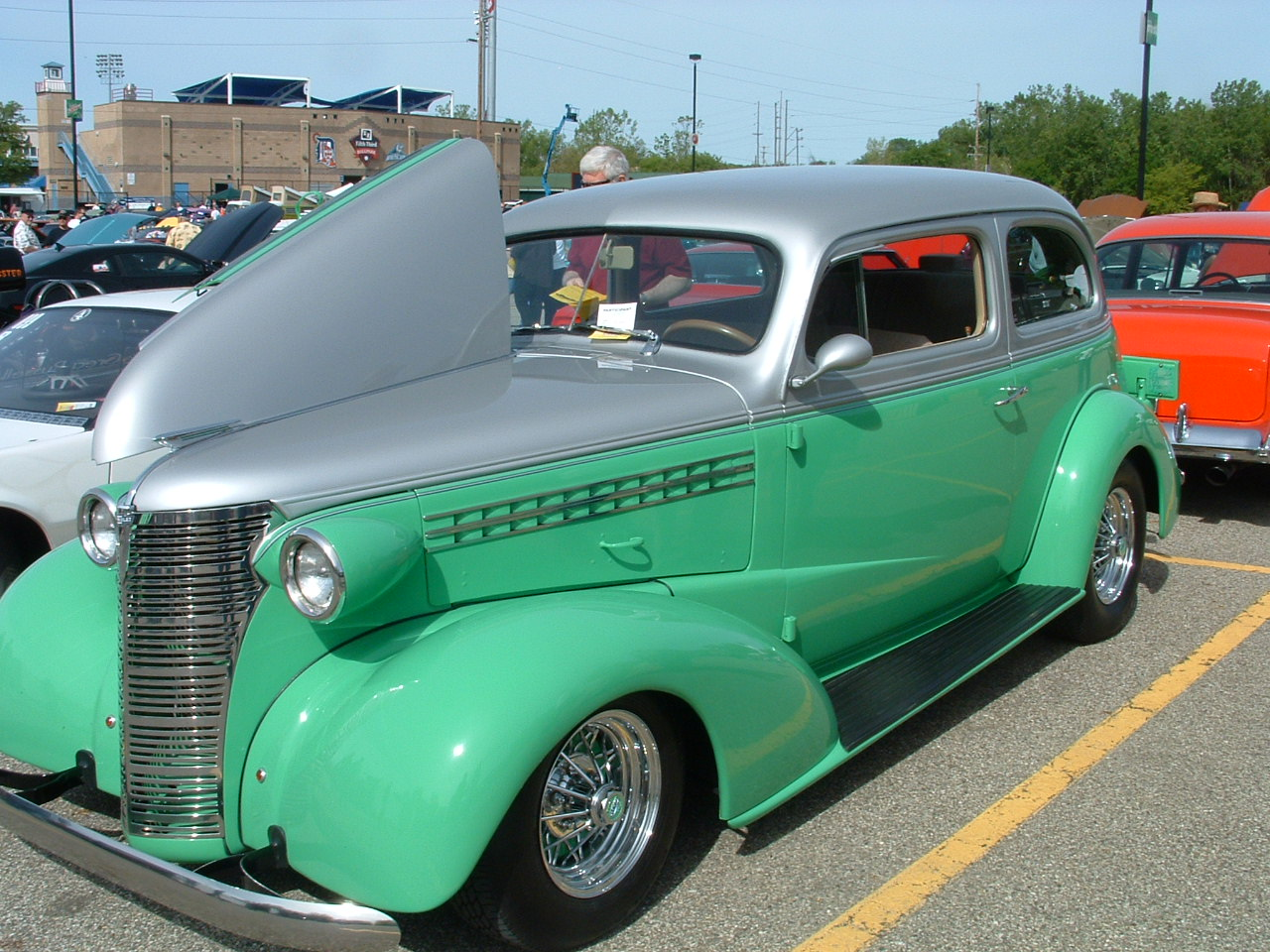 This is a 1939 Chevy 2dr