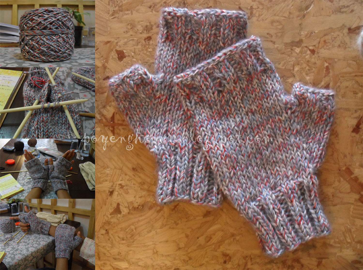 Free Knitting Patterns For Baby Clothes : FREE FINGERLESS GLOVE KNITTING PATTERNS FREE PATTERNS