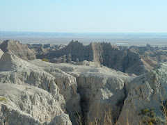 Canyons in the Badlands