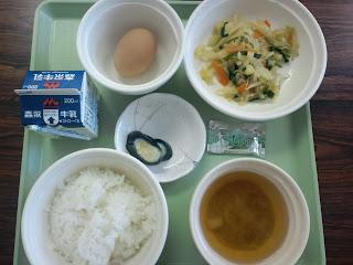写真: 6日目の朝食
