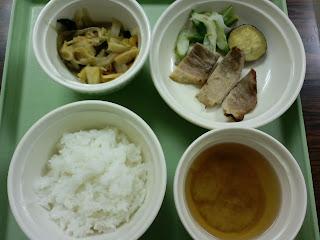 写真: 7日目の夕食
