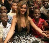 Beyonce Knowles in Zimbabwe?