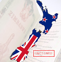 Another Declined New Zealand Visa Application For a Zimbabwean