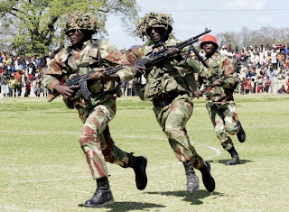 Zimbabwean Soldiers Who Beat Civilians Haphazardly!