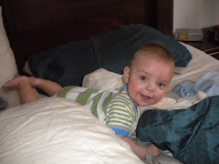 Jackob In Mommy's Bed!!!