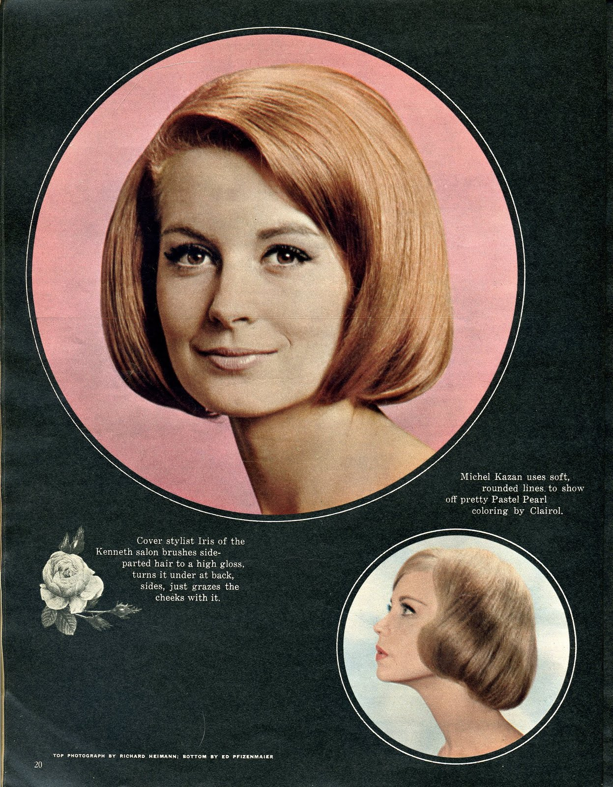 """Pageboy Haircut 1950 Pageboys. """""""
