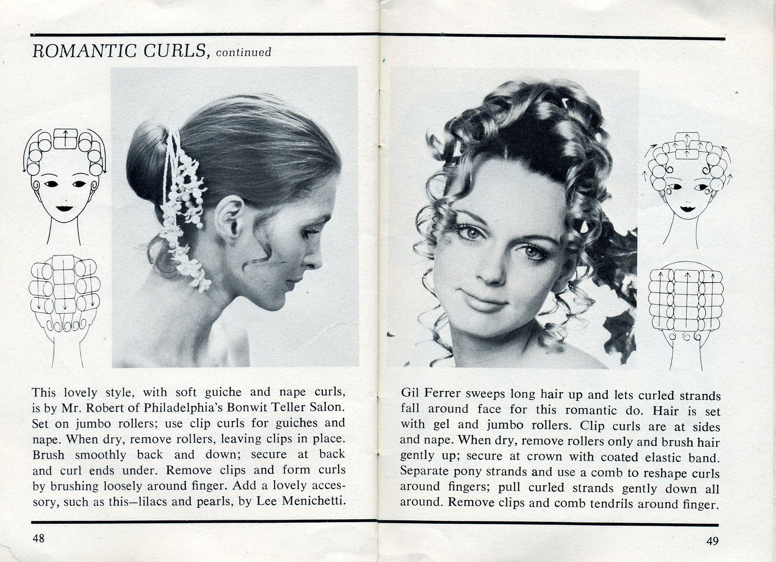 Beauty is a thing of the past: Romantic Curls