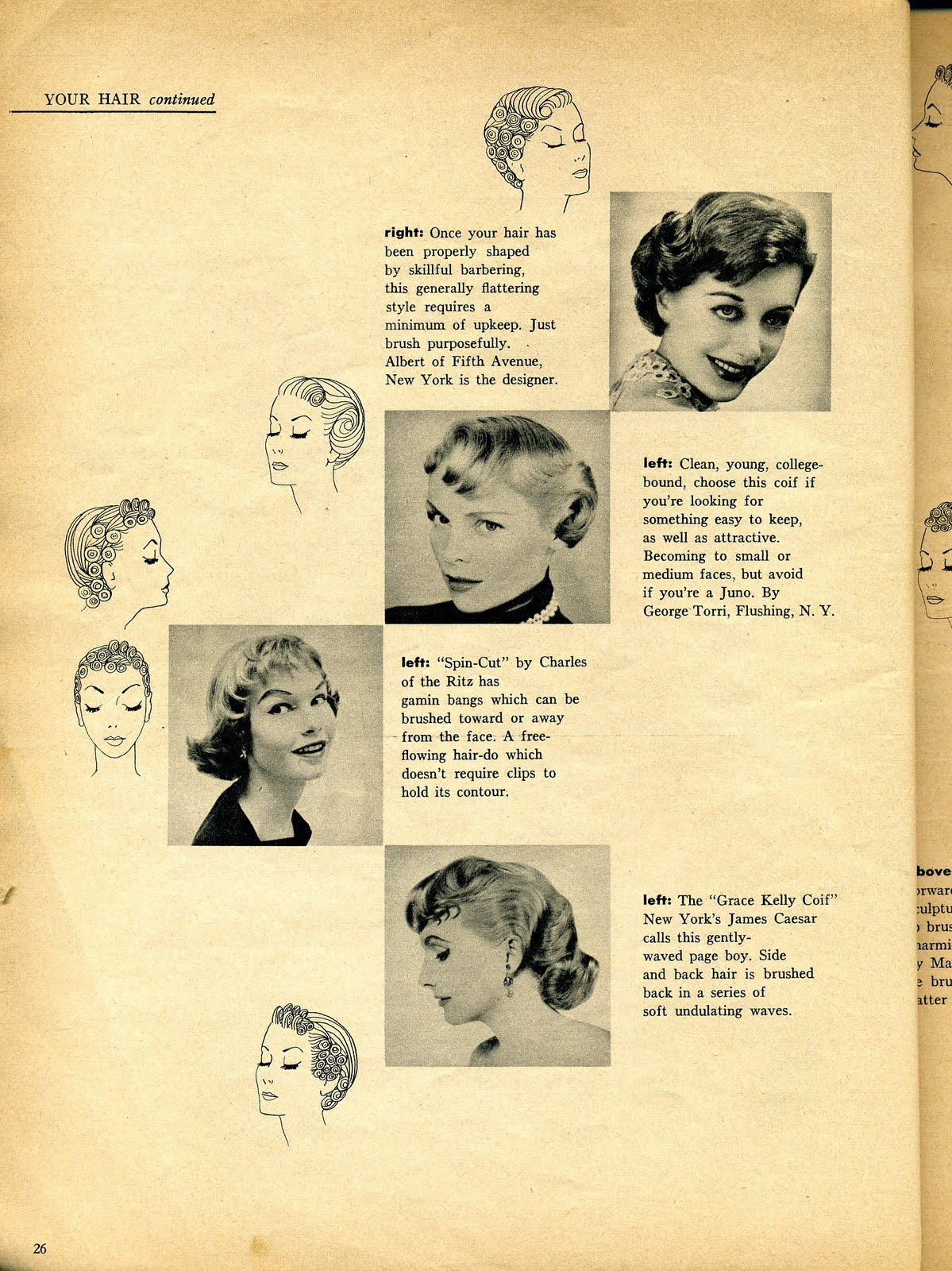 Beauty is a thing of the past: Your Hair: These Coifs are ...