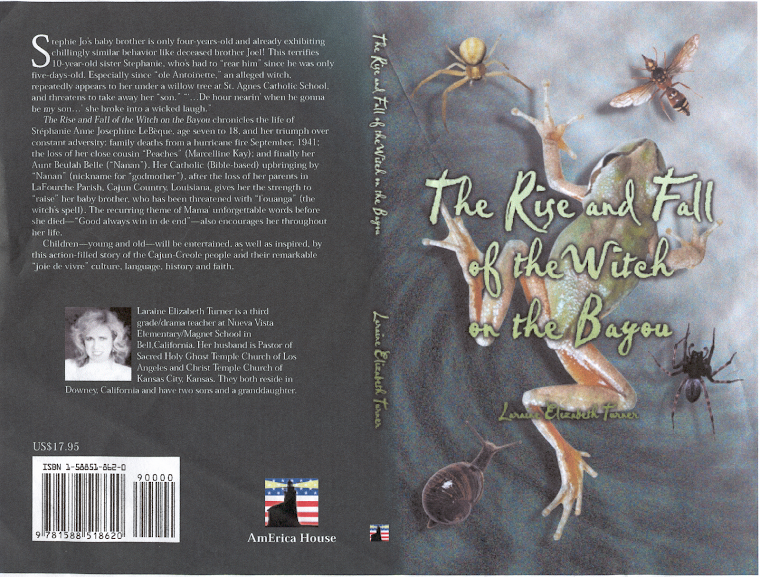 "My Action-Thriller, ""The Rise and Fall of the Witch on the Bayou"""