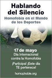 17 de Mayo:Dia Internacional contra la Homofobia