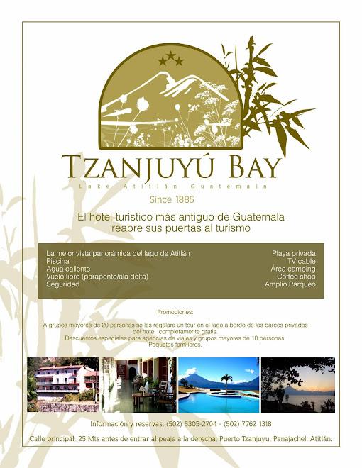 Hotel Tzanjuyu Bay, lake atitlan