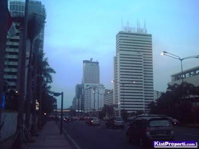 Bunderan Hotel Indonesia, Tugu Selamat Datang Jl. MH. Thamrin, Jakarta Pusat