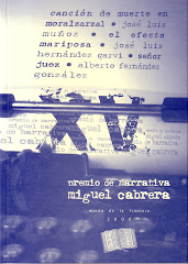 Premio de Narrativa Miguel Cabrera (Fundacin Fernando Villaln, 2008)