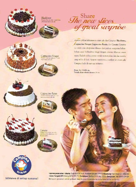 2003 Campina Ice Cakes (Print Ad)