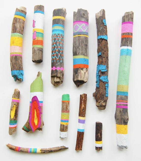 Painted Craft Sticks