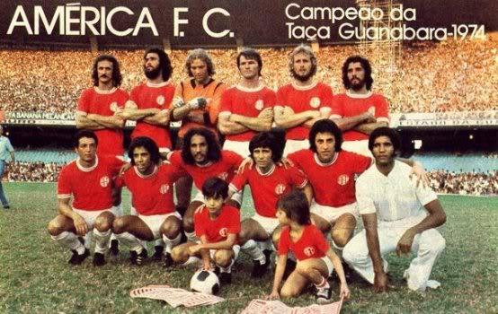 Orlando, Geraldo, Rogério, Alex, Ivo e Álvaro; Flecha, Bráulio ...