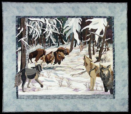 Winter Encounter, © Carol Ann Sinnreich