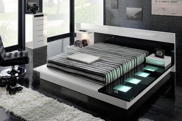 Modern platform beds can vary