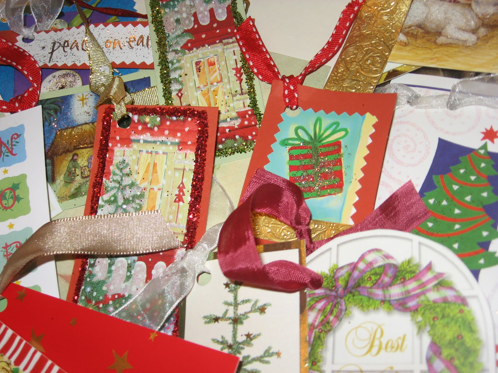 Embellish a fun and functional way to recycle old for How to recycle old christmas cards