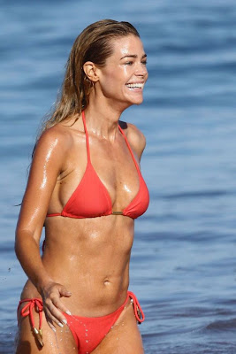 Actress Denise Richards Various BIKINI Candids Collection