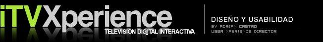 itvxperience: televisión digital interactiva / diseño y usabilidad