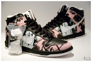 buy online 5b993 87ba2 The Nike Dunk High Pro SB – Unkle Dunkle Futura (black  white  pink)  features a black, white, and pink colorway. These are a collaboration  between Nike SB ...