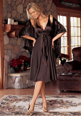 ������ ������ ����� ����� BP Brown Dress.jpg