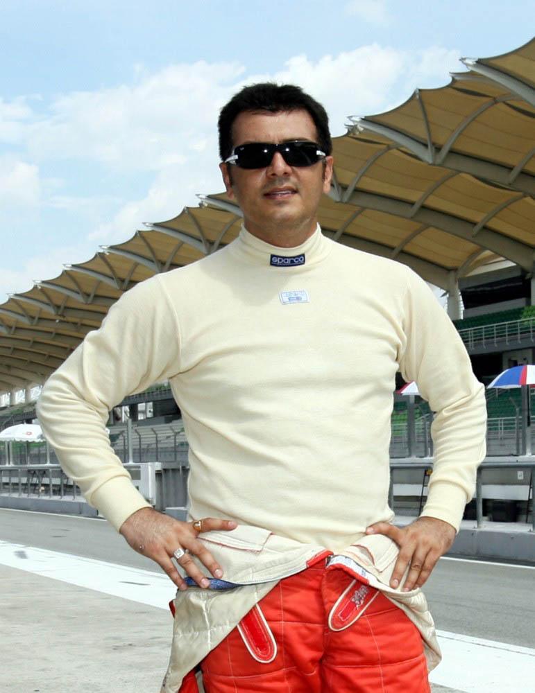 Actor Ajith Car Race Video