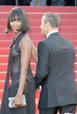 Naomi Campbell 63rd Annual Cannes Film Festival