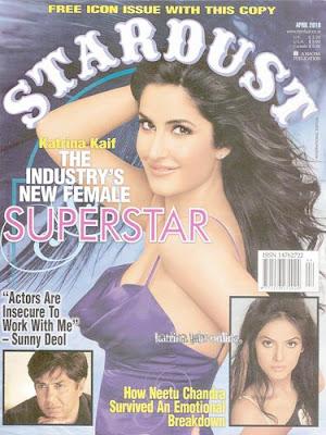 Katrina Kaif Stardust Magazine