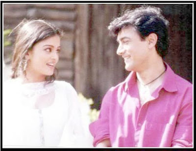 Aishwarya Rai and Aamir Khan