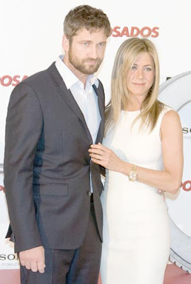 Jennifer Aniston and Gerard Butler