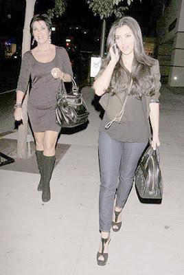 Kim Kardashian Mastro's Steakhouse