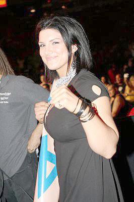 Gina Carano Ringside