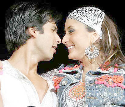 Kareena Kapoor and Shahid Kapoor