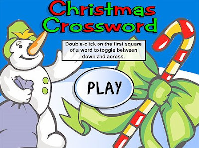 Online Christmas Crossword Puzzles