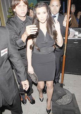 Kim Kardashian Dan Tana Restaurant