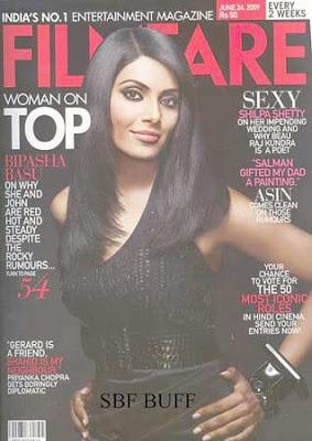 Bipasha Basu Filmfare Magazine June 2009 Pictures