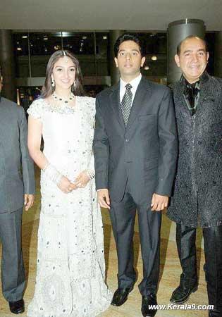 Sridevi Tamil Actress Wedding Marriage Reception Hyderabad Photos