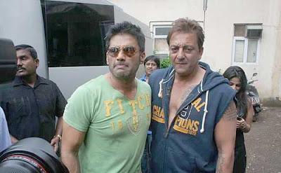 Sanjay Dutt and Sunil Shetty