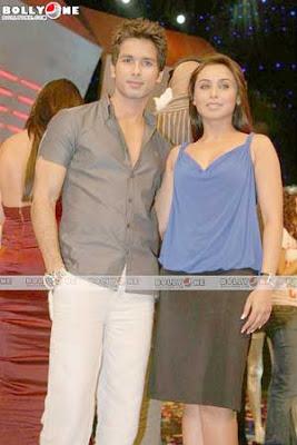 Rani Mukerji and Shahid Kapoor